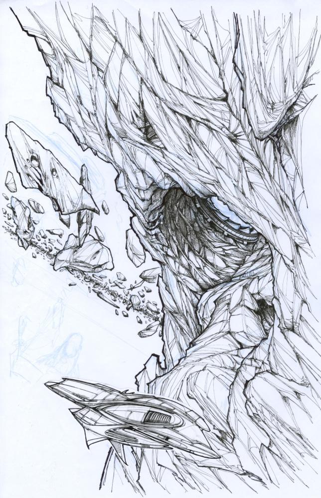 B&W line drawing