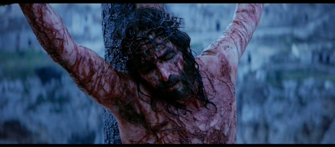 "The Crucifiction from Mel Gibson's ""Passion of the Christ"""