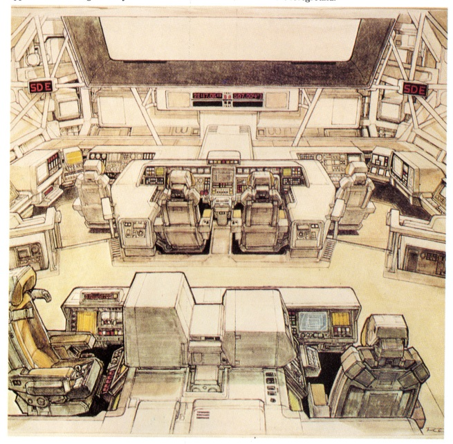 the Nostromo Bridge