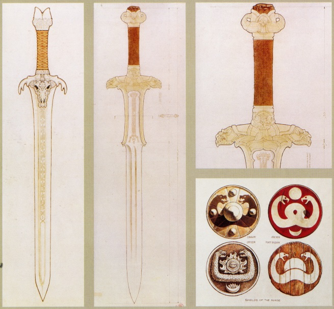 and my fav those awesome sword designs!