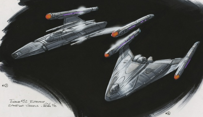 rough concepts for earth based defense squadron starships