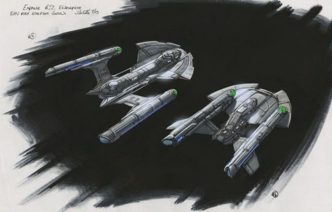 Two more roughs for Earth's defense fleet
