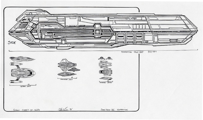 holo ship scale sheet