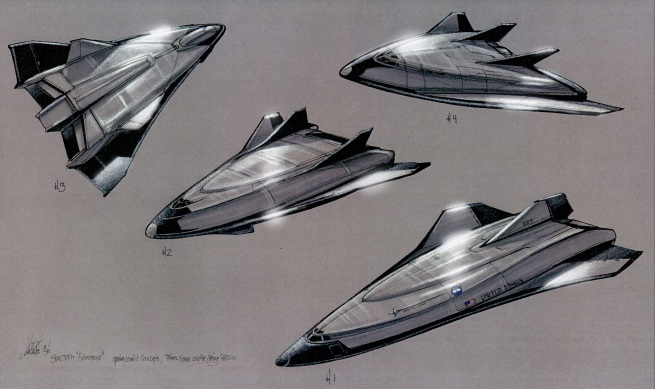 the closest ship ideas to our present future of Space flight
