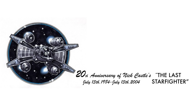 cachet art for Starfighter's 20th