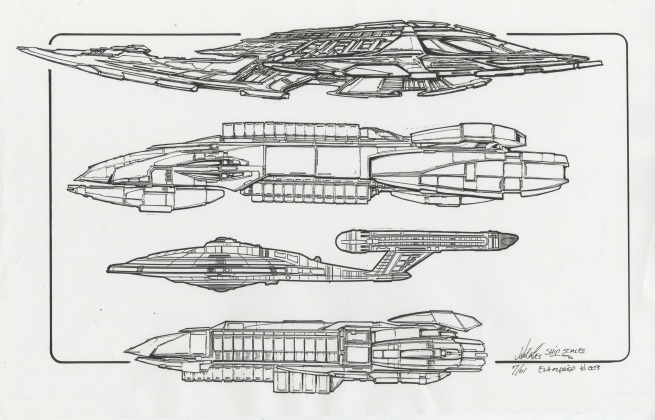 003, episodical ship scale chart