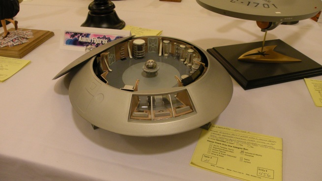 here is a very nice Jupiter II cut-away from the model contest