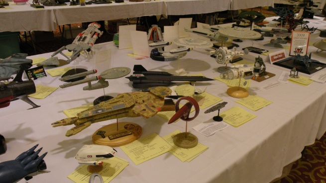 loads of awesome model entries here, even one of Drex's little Vulcan ship