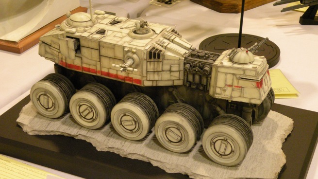 a very nice concept model based on Joe Johnston's Empire Strikes back design