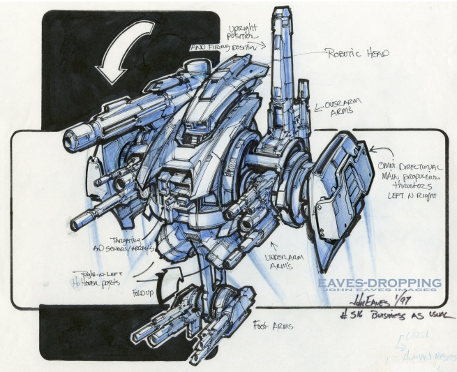this was the rough for the master blaster!!!