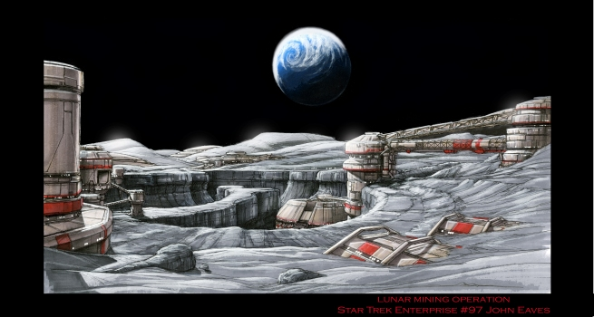the moon base