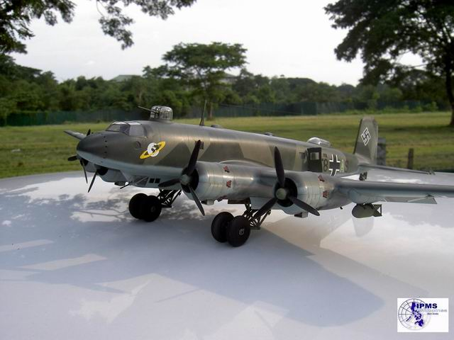 a beautiful model of the Condor by ipms, used for paint scheme reference