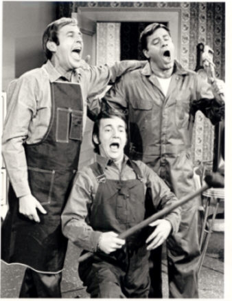 Singing with Jerry Lewis,,, who sang worst I wonder!!!