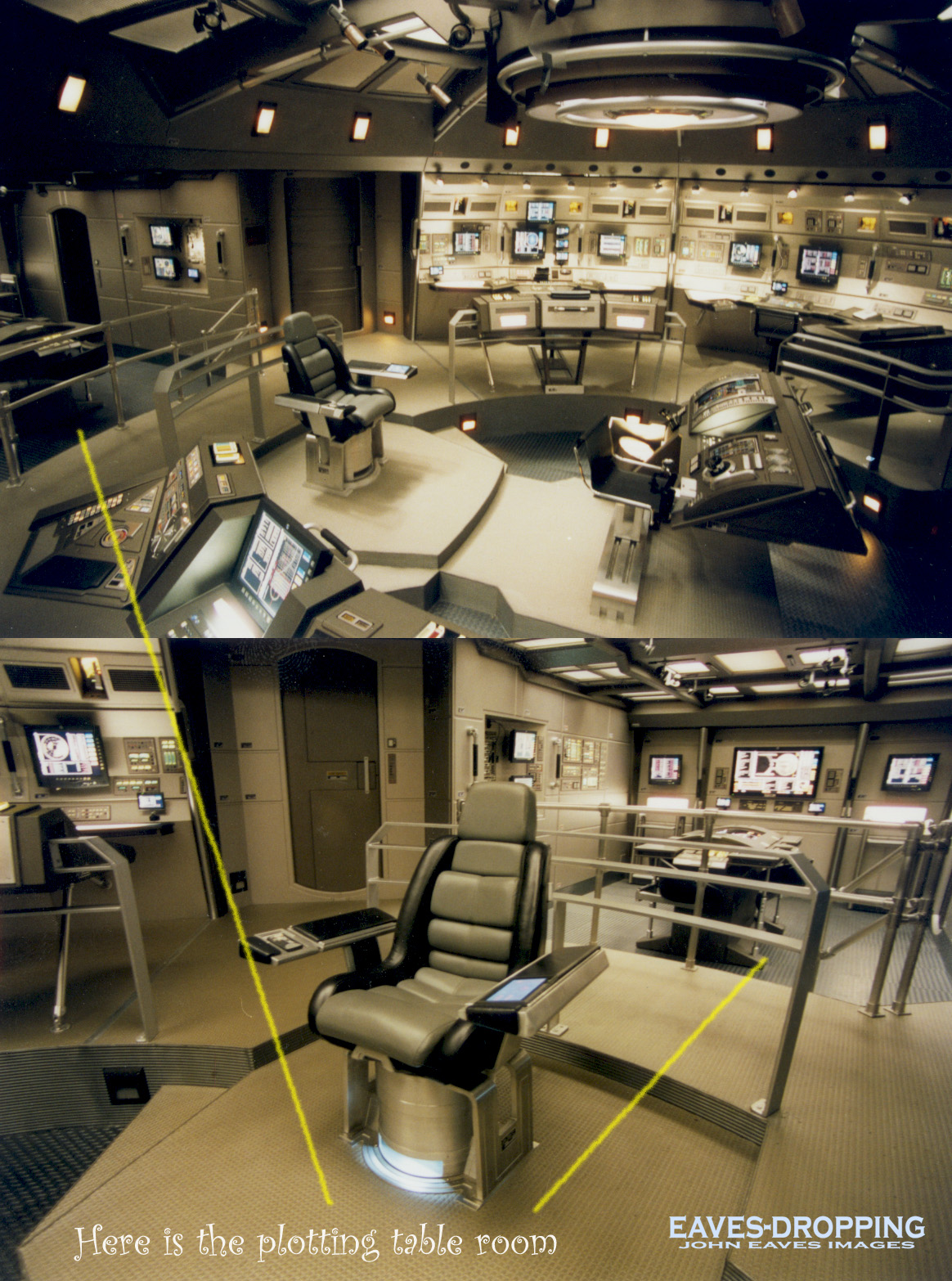 the plotting table from the bridge set of the nx