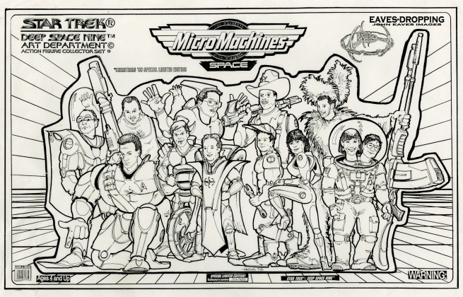 DS9 Christmas card 12-95
