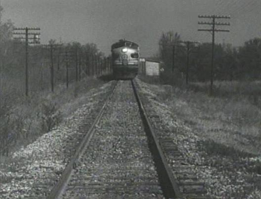 here she comes, the real location shot of the train a coming!
