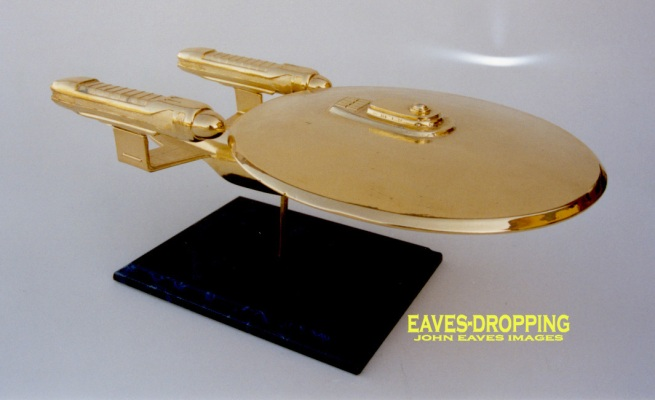 the Enterprise-C from a garage kit.