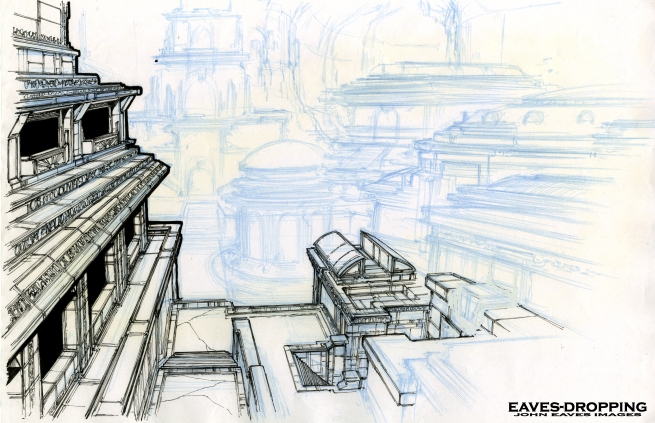 temple concept #1,,,, Make it grander!!!