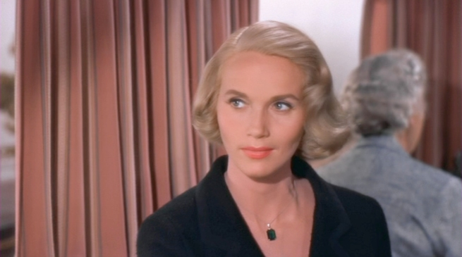 the beautiful Eva Marie Saint, who recently played Clark kent's mom in Superman returns