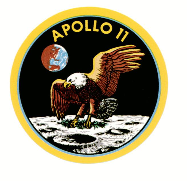 the mission patch