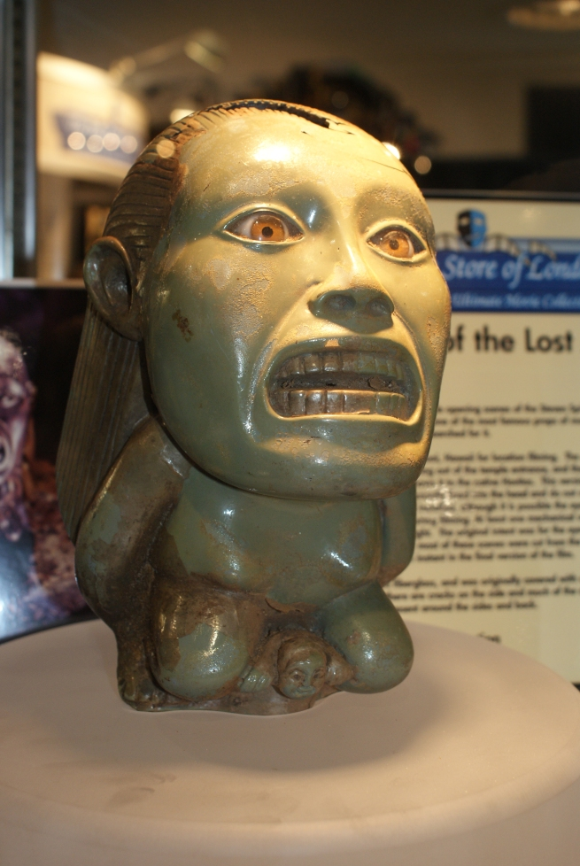 the original master sculpt of the idol with the glass eyes!!!