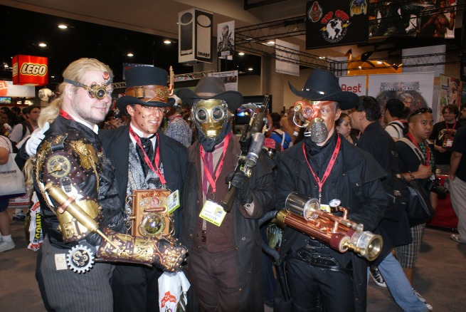 steam runners, these were some awesome homemade costumes!