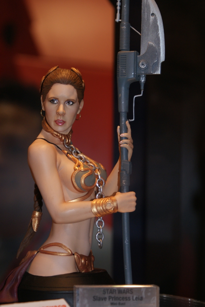 a beautiful bust of Leia!