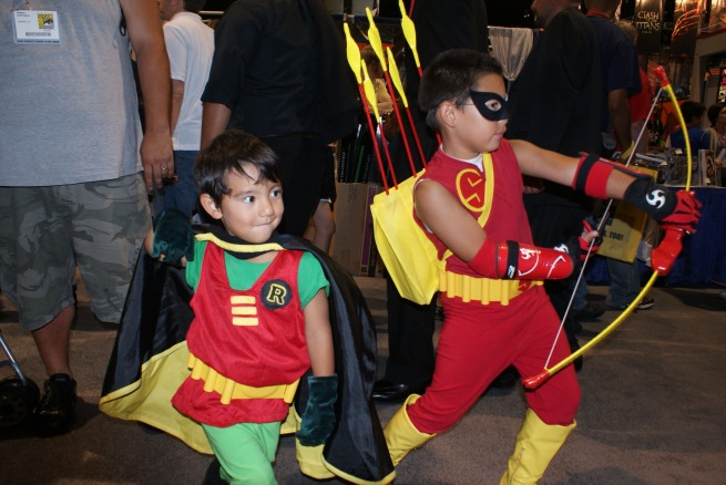 even the little ones decked out with some cool suits