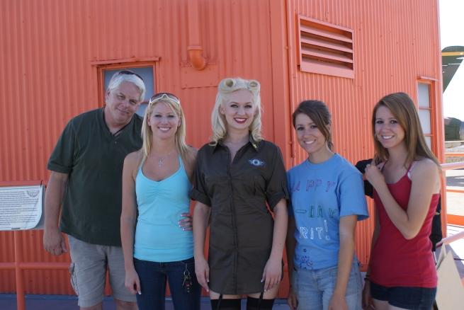 Tony, Jessica, Penny, Alicia, and Olivia