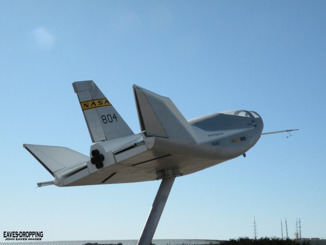 "the HL-10 Lifting body!!! I so loved this one as a kid and it was seen in a couple of shots during the opening credit Sequence of the ""Six Million Dollar Man"""
