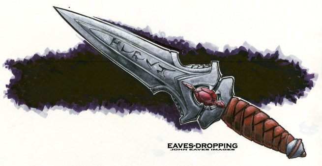 Klingon Knife concept