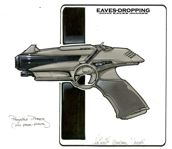 single piece phaser rough