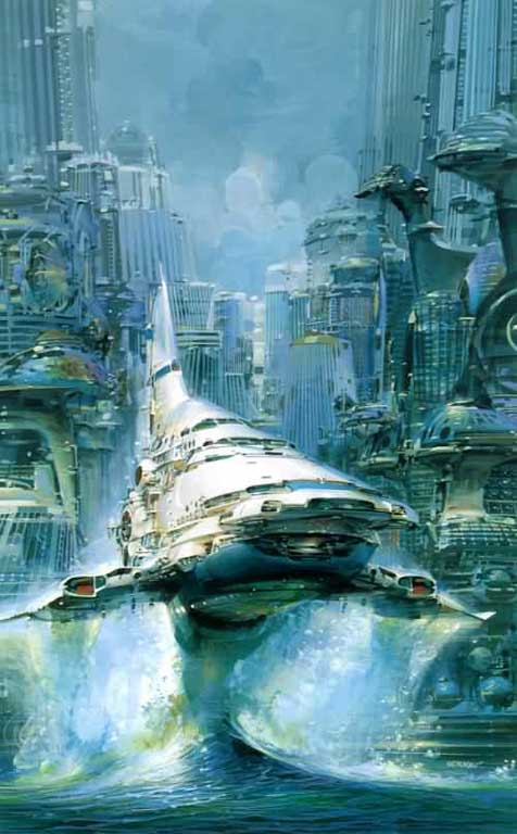 inspiration by John berkey