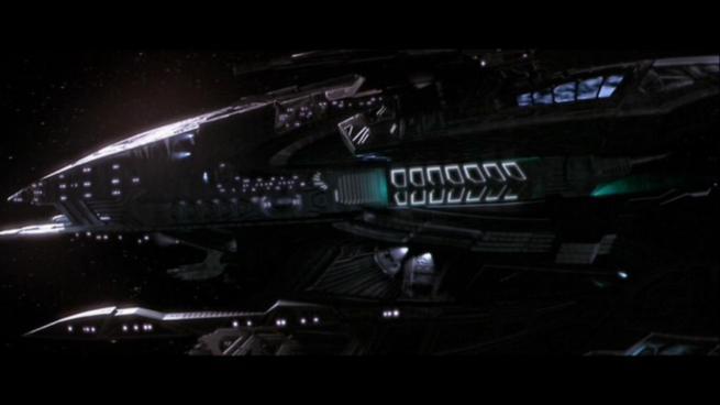 Reman warbird Scimitar, Star Trek Nemesis (3)