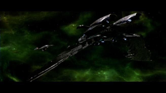 Reman warbird Scimitar, Star Trek Nemesis (47)