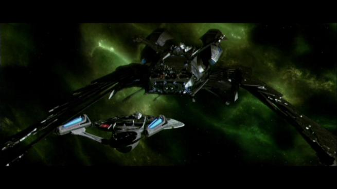 Reman warbird Scimitar, Star Trek Nemesis (55)
