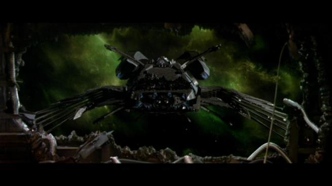 Reman warbird Scimitar, Star Trek Nemesis (59)