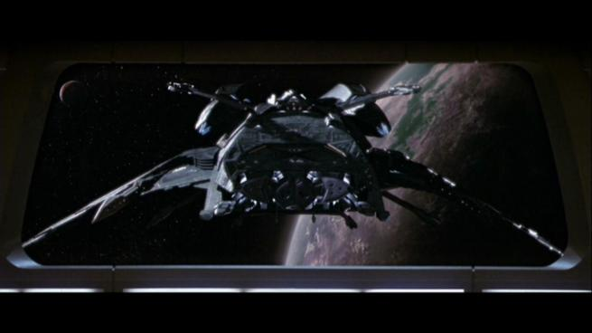 Reman warbird Scimitar, Star Trek Nemesis (7)