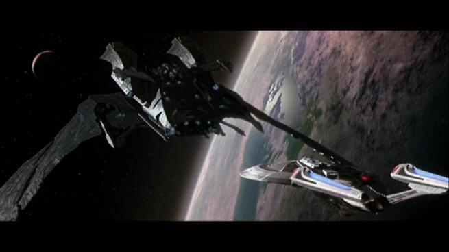 Reman warbird Scimitar, Star Trek Nemesis (8)