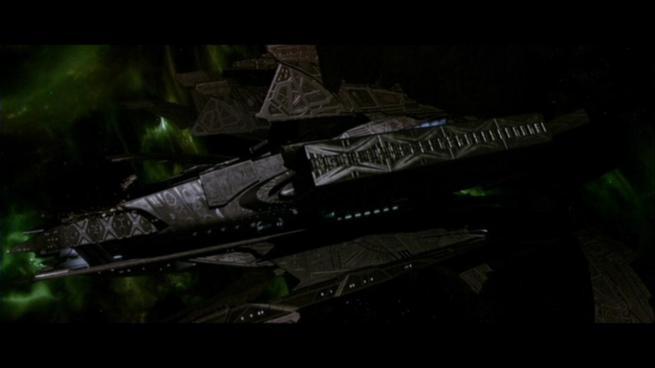 Reman warbird Scimitar, Star Trek Nemesis (82)