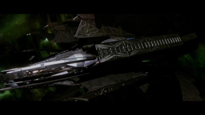 Reman warbird Scimitar, Star Trek Nemesis (84)