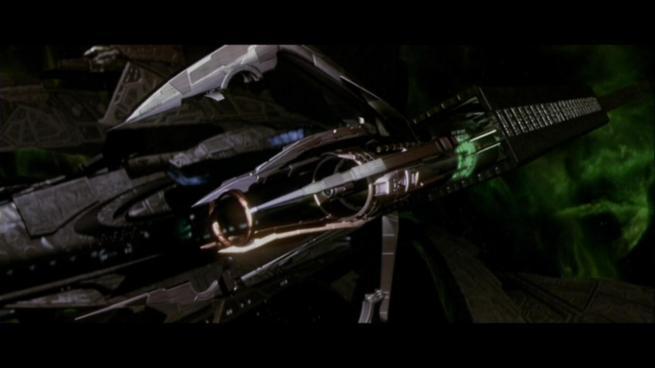 Reman warbird Scimitar, Star Trek Nemesis (89)