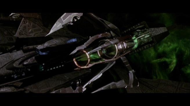 Reman warbird Scimitar, Star Trek Nemesis (90)