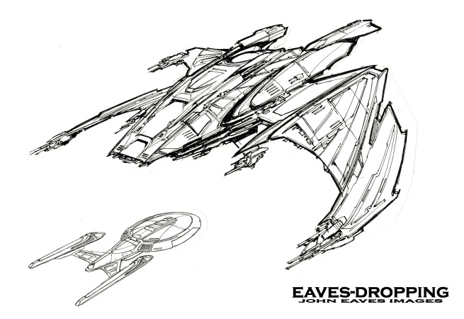 OK, OK it's another (yet very different) Bird of prey ship