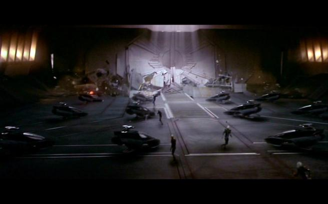 Scimitar shuttlebay, Star Trek Nemesis (2)
