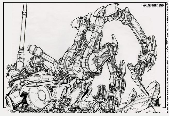 the extinct XO robot