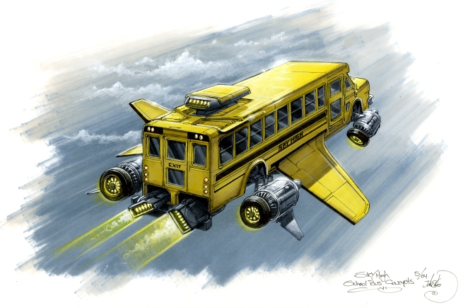 the S-cool bus from Sky High