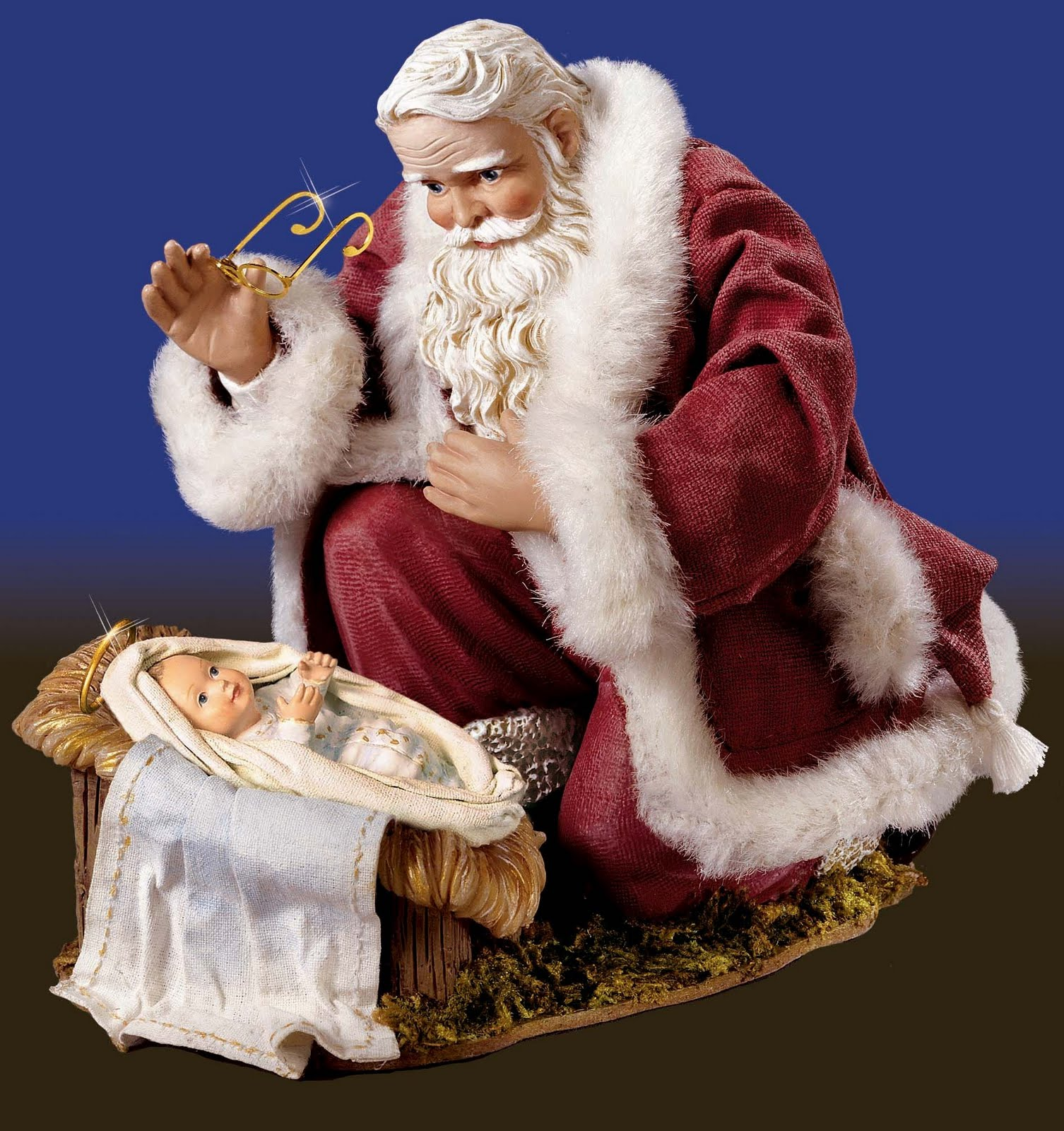 santa-visits-the-baby-jesus | Eavesdropping with Johnny