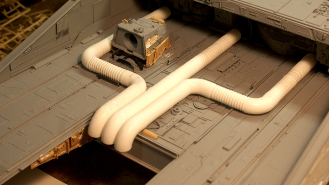the master pipers were molded off of surviving sections of pipe from the Nostromo