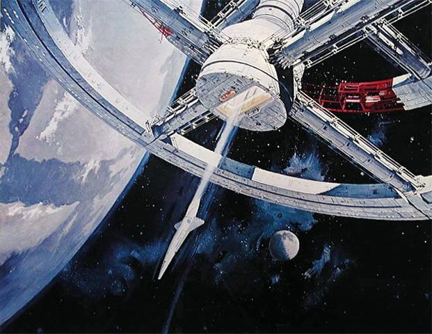 Cygnus spacecraft interior